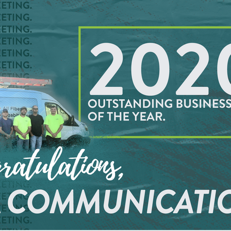 2020 OUTSTANDING BUSINESS OF THE YEAR