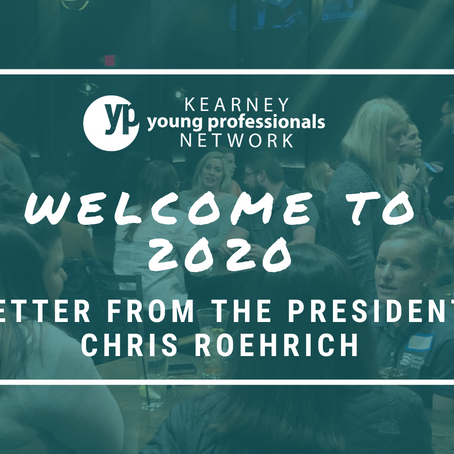 YPN: Welcome to 2020, Letter from the YPN President Chris Roehrich