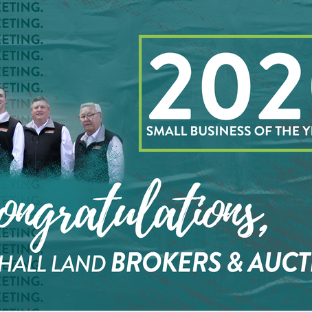 2020 SMALL BUSINESS OF THE YEAR