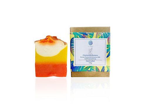 Roman Chamomile & Coconut Milk Cold Processed Soap (135g)