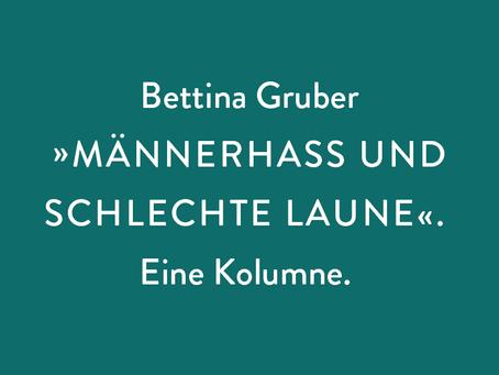 """Bettina Gruber: """"MÄNNERWELTEN"""" — Ich werde belästigt, also bin ich"""