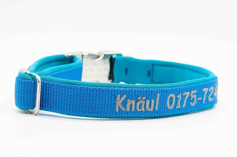 Hundehalsband Alu-Klickverschluss 25mm mit Stick