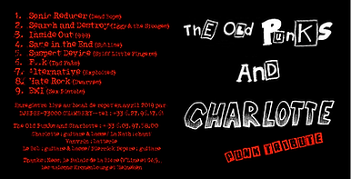 Pochette CD The Old Punks And Charlotte.