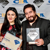 Colorado Broadcasters Association awards with Latino Radio Sation La Tricolor