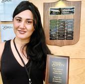 Aspen Theatre Heroes award