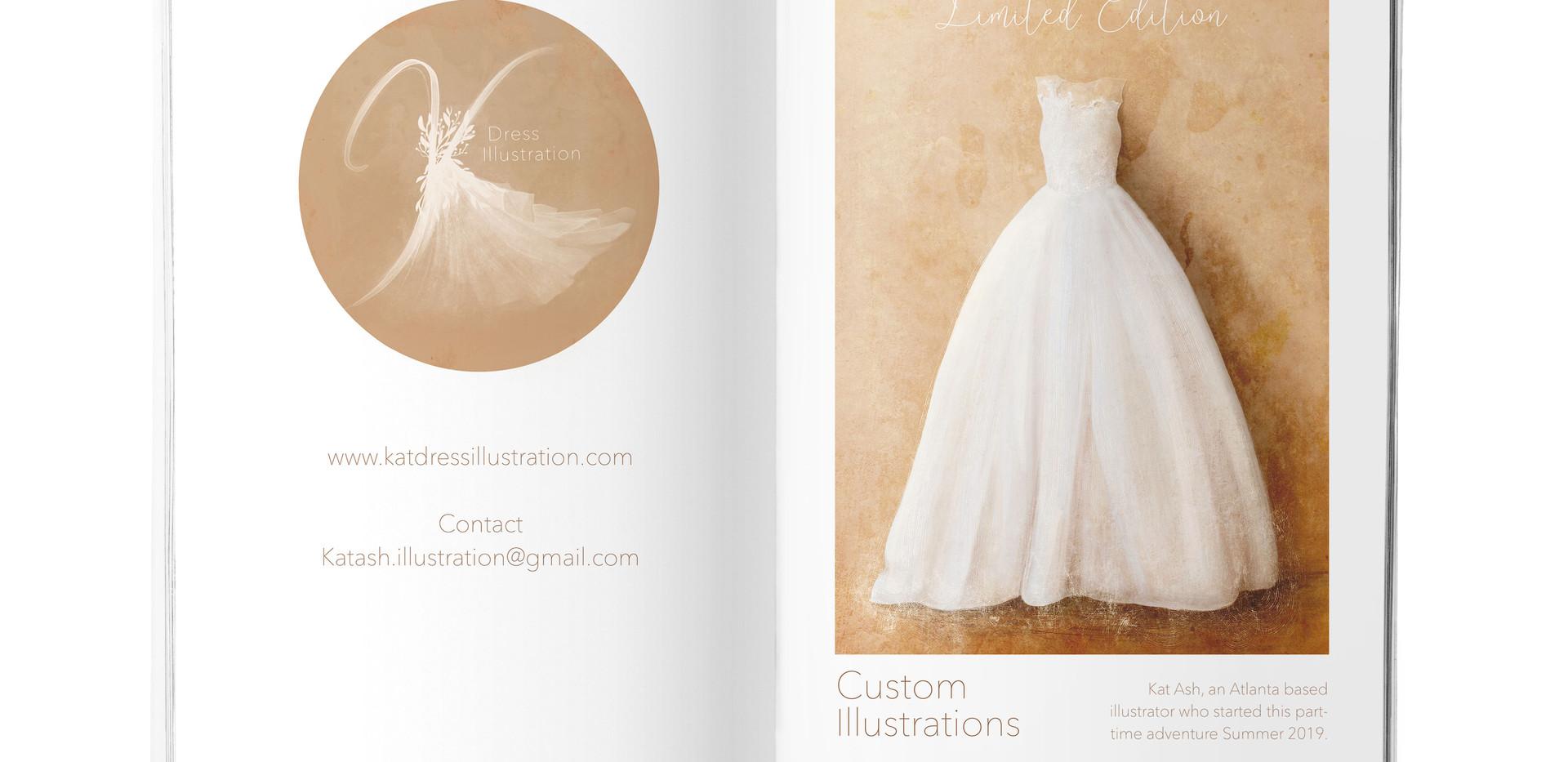 Kat Dress Illlustration
