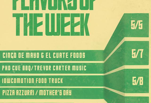 Flavors of the Week
