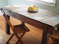 Rail Cart Dining Table