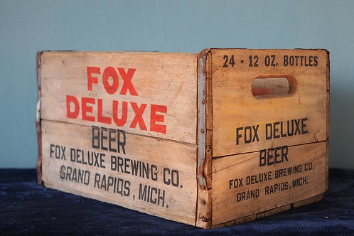 Fox Deluxe Beer Crate Cooler