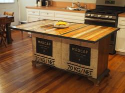 Yardstick Kitchen Island Bench