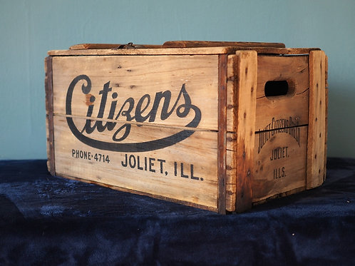 Citizens Beer Crate Cooler with Lid