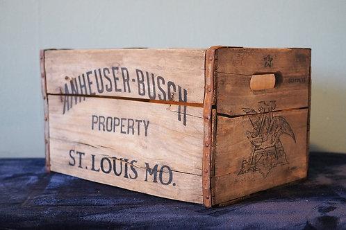 Anheuser-Busch Beer Crate Cooler
