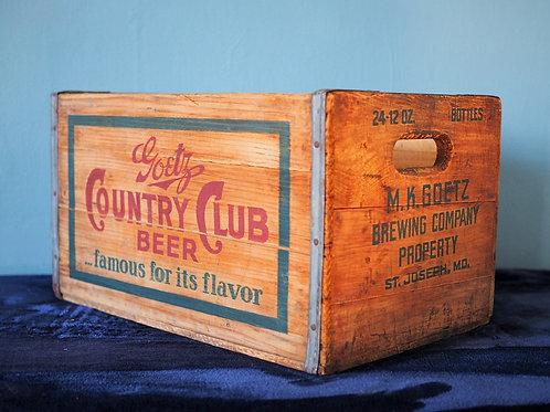 Goetz Country Club Beer Crate Cooler