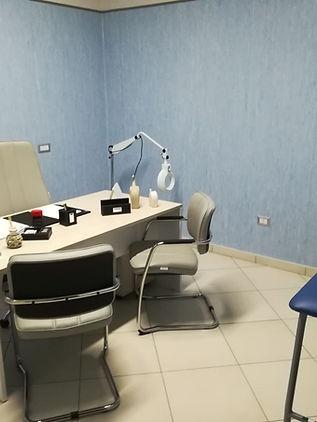 Stanze visita Studio dermatologico e polispecialitico Raimondo