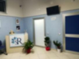 Sala d'attesa Studio dermatologico e polispecialitico Raimondo