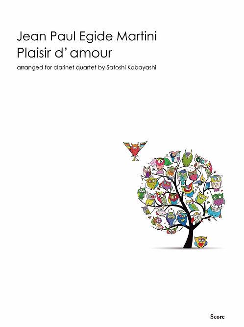 J.P.E.Martini / Plaisir d'amour (3cls, Bcl)