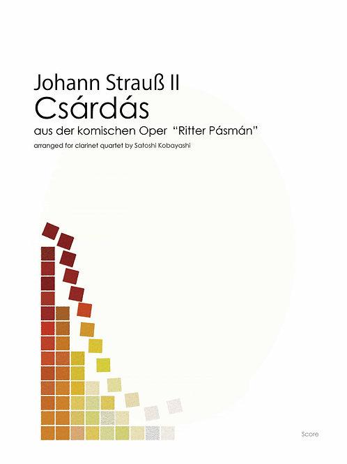 """J.Strauss II """"Csárdás"""" from Opera """"Ritter Pásmán"""" (3cls,Bcl)"""