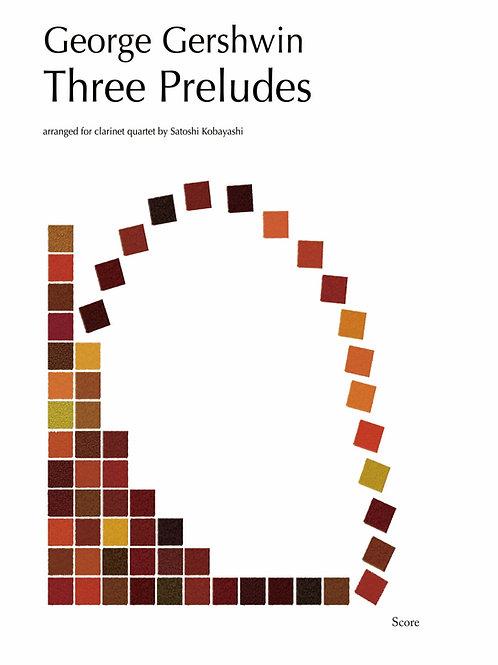 Gershein / 3 Preludes (3cls, Bcl)