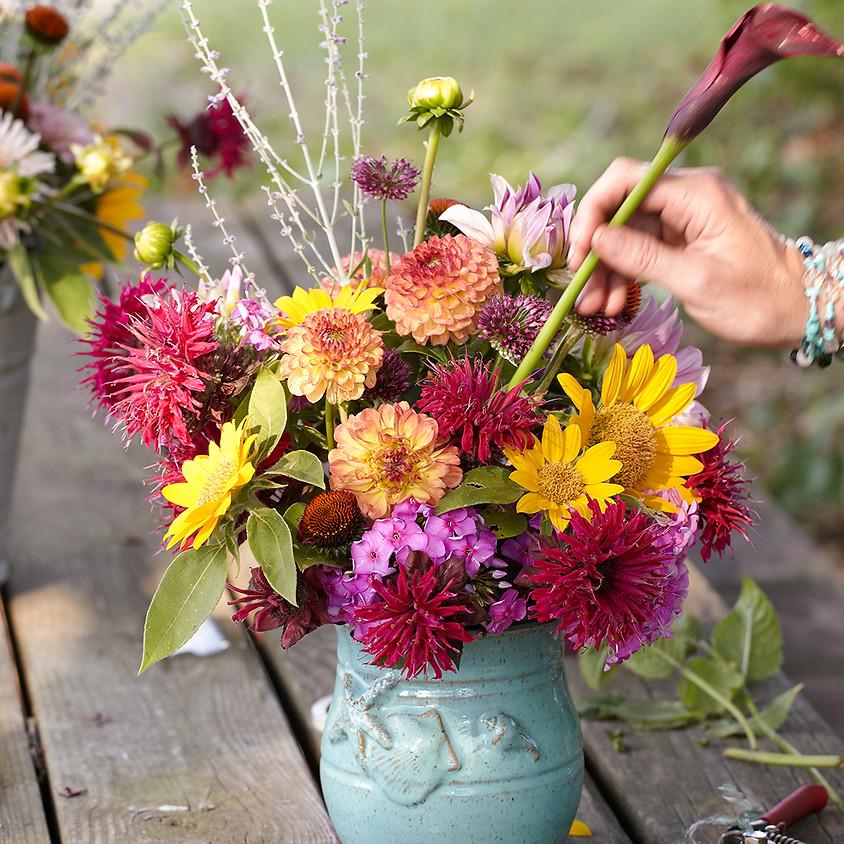Heirlooms & Blooms Flower Workshop