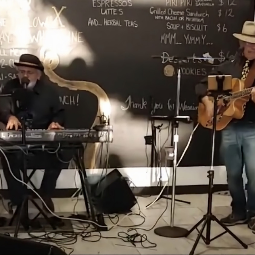 Clark & Phil of Hourglass Live at Heritage Brewing