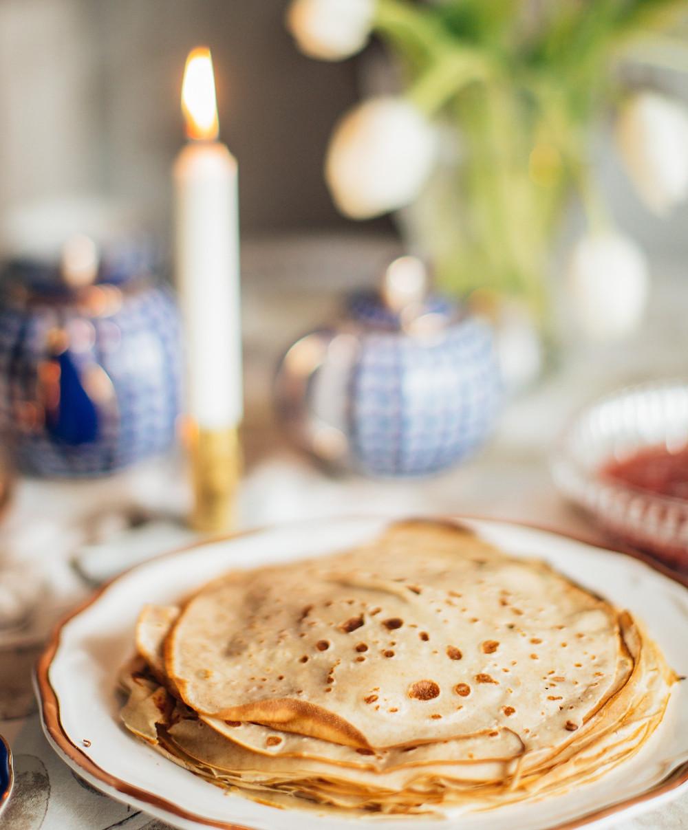 Recette de crêpe au froment pour la Chandeleur