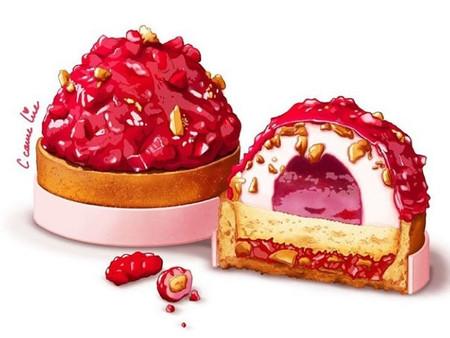 Céline Chaverot, l'illustratrice qui croque nos pâtisseries préférées