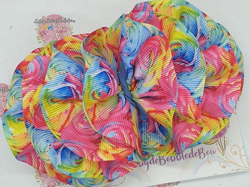Rainbow Flowers - WavydeBobbledeBow