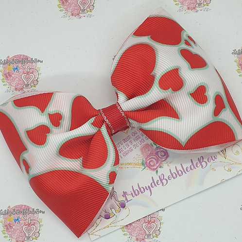 Red Hearts - Tux Bow (2 For £5)