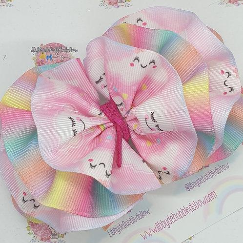 Pink Rainbow - WavydeBobbledeBow