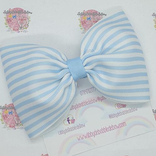 Stripes - Choose Your Colour Tux Bow (2 For £5)
