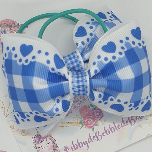 Gingham Glory - Choose Your Colour PiggiedeBobbledeBow (Set of 2)