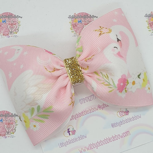 Swan Love - Tux Bow (2 For £5)