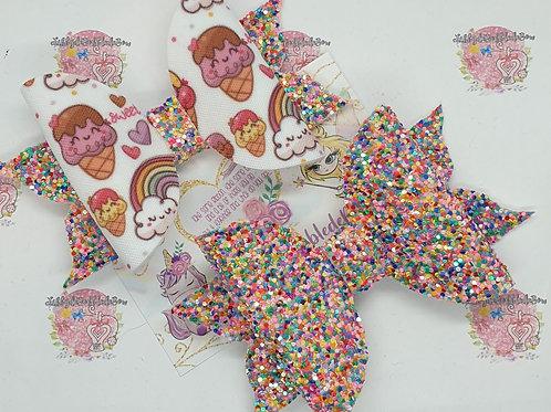 Rainbow Sprinkles - FlutterdeBobbledeBow
