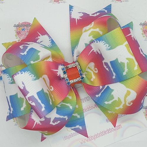 Rainbow Unicorn - LoopydeBobbledeBow