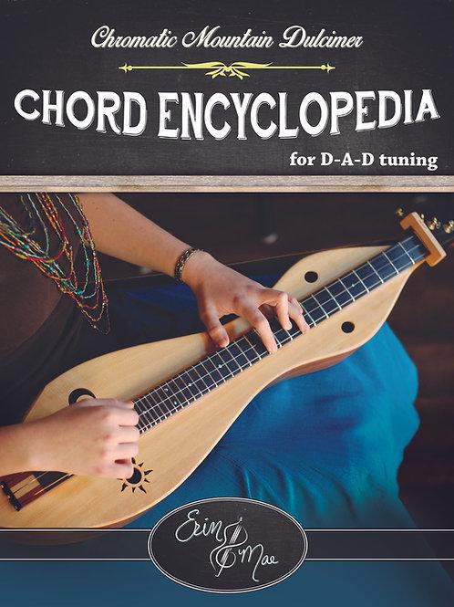 Chromatic Mountain Dulcimer Chord Encyclopedia
