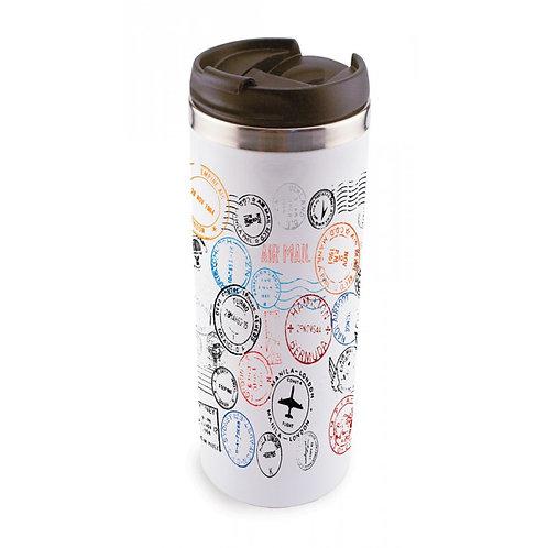 SubliCool Full Color 14oz. Stiainless Travel Mug