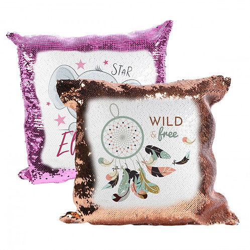 Sequin 1 Sided Pillowcase