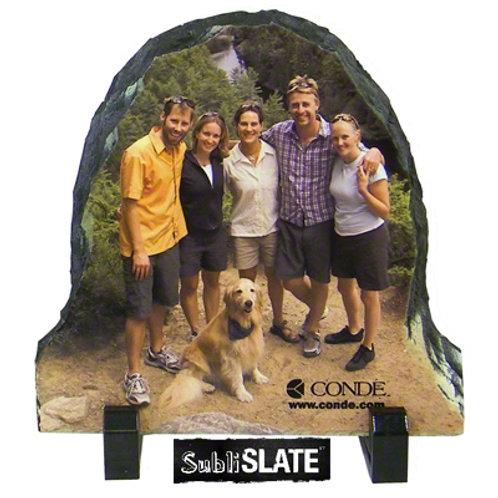 PhotoStone Half Oval Slates