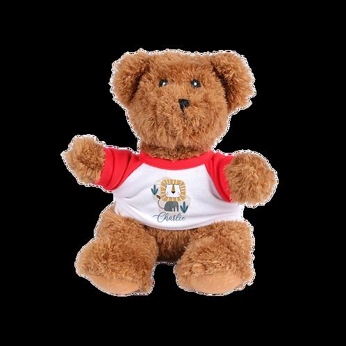 "8"" Stuffed Plush Bear W/T-Shirt"