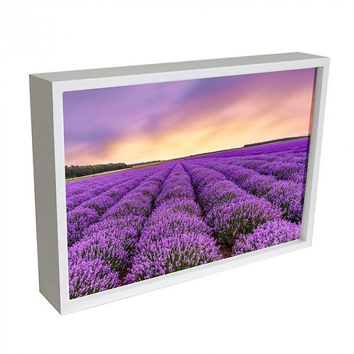 Wood Framed Standing Block with Sublimated Insert