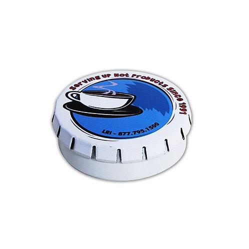 2.1 x .75 Clik-Clak Round Gift Tin