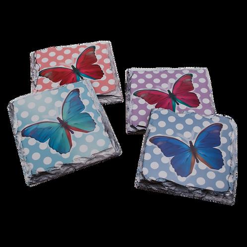 PhotoStone Square Slate Coasters