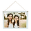 Thumbnail: White Wood Hanging Rectangle with Sublimated Insert