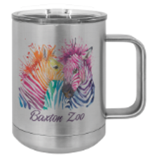 Full Color Polar Camel 15 oz. Coffee Mugs