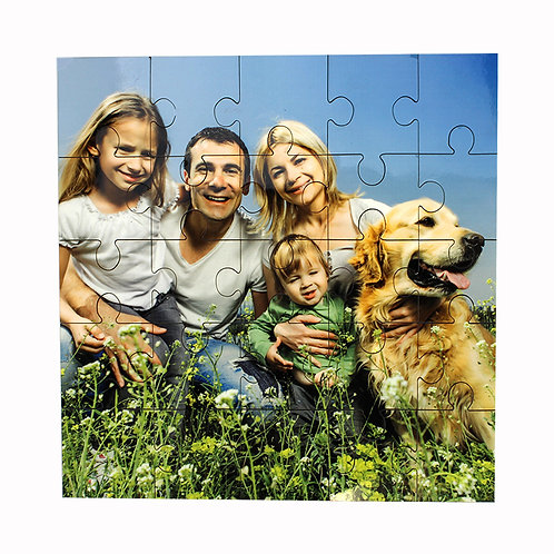 Square Hardboard Puzzles