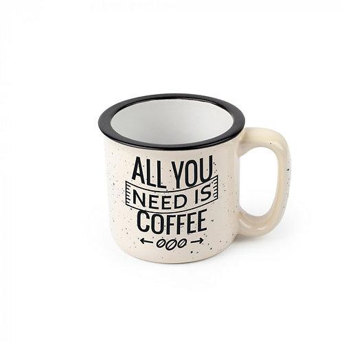 13 oz. Ceramic Camp Mugs