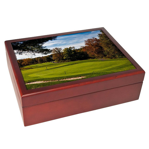 Standard Wood Box Mahogany Satin 6x8