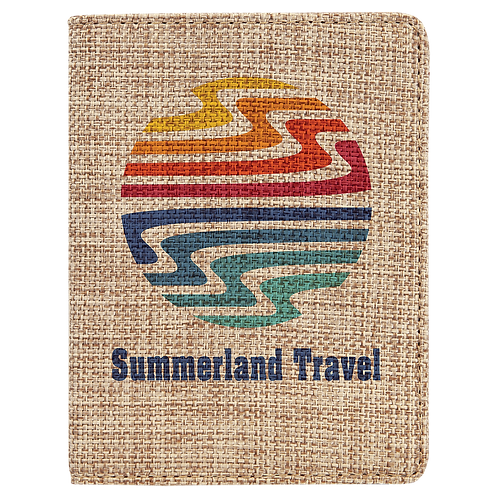Subli-Burlap Passport Holder