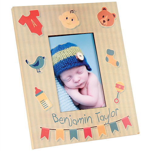 Sublimated 8X10 Photo Frame for 4x6 Photo