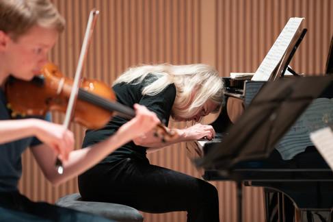 Heini Kärkkäinen Schubert trio @VilleHau